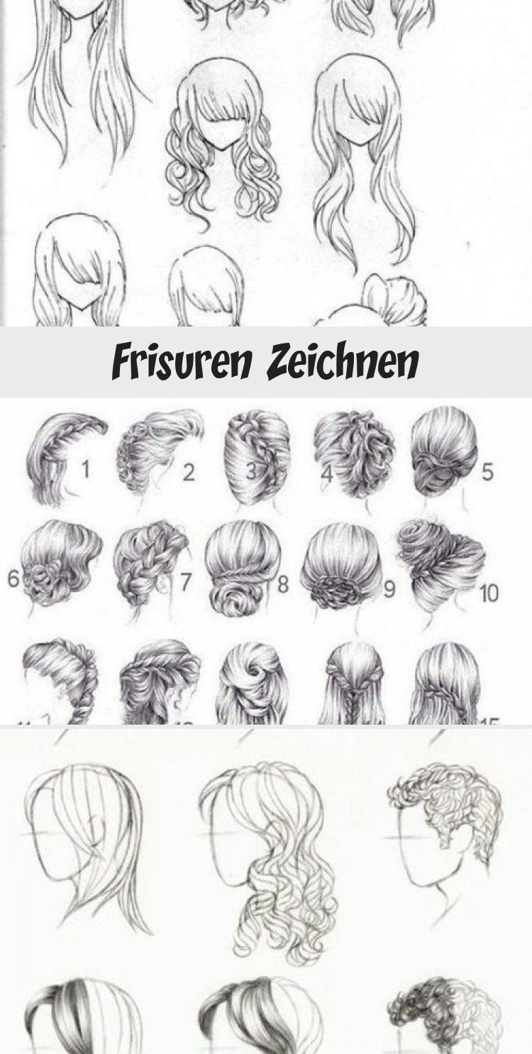 Beste Frisuren Zeichnen Frisuren Zeichnen Haare Zeichnen Haar Referenz
