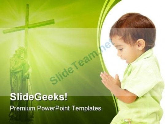 Prayer Religion PowerPoint Templates And PowerPoint Backgrounds 0411