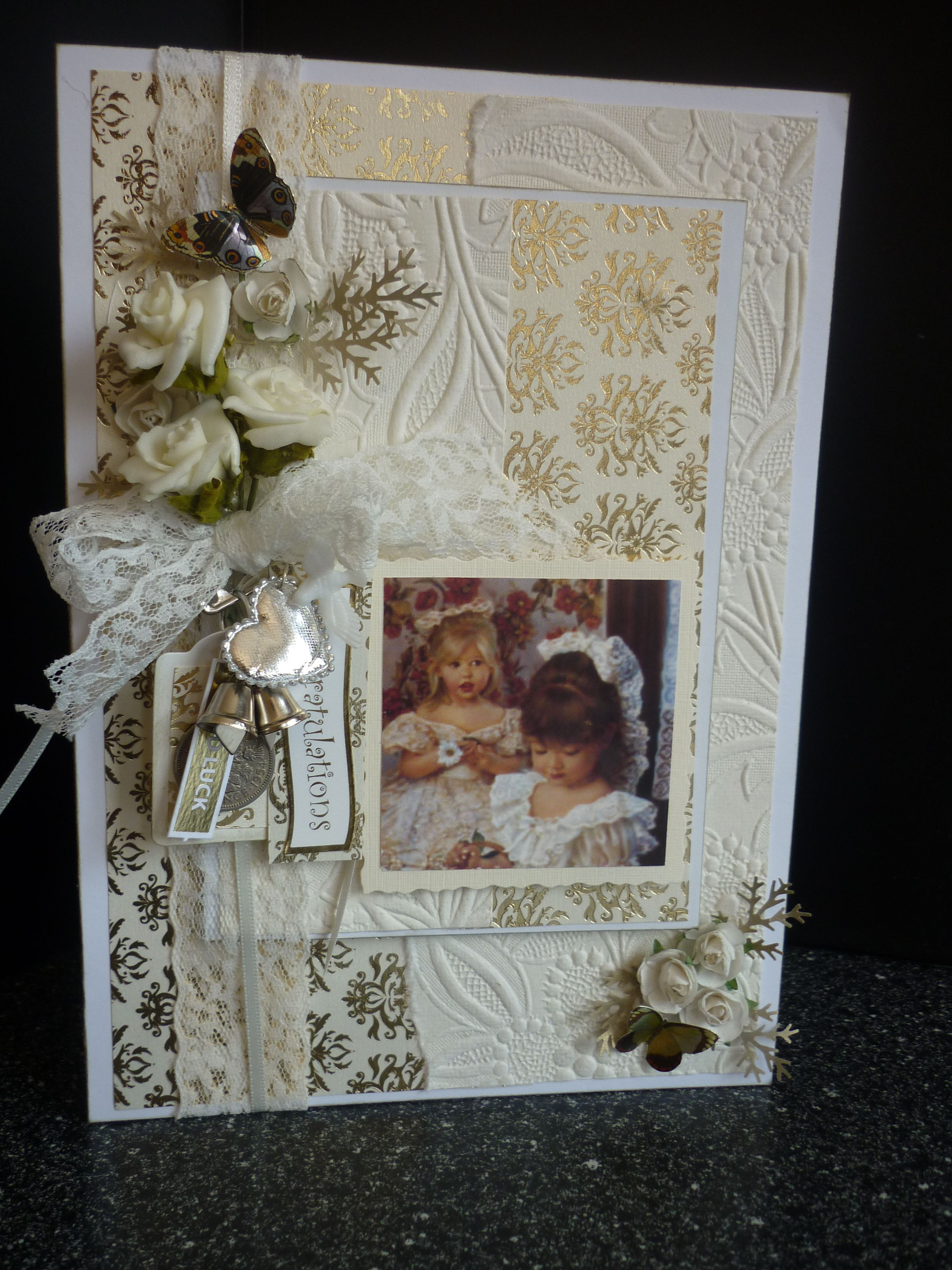 Wedding Card Made By Me Shadow Boxes Pinterest Wedding Card