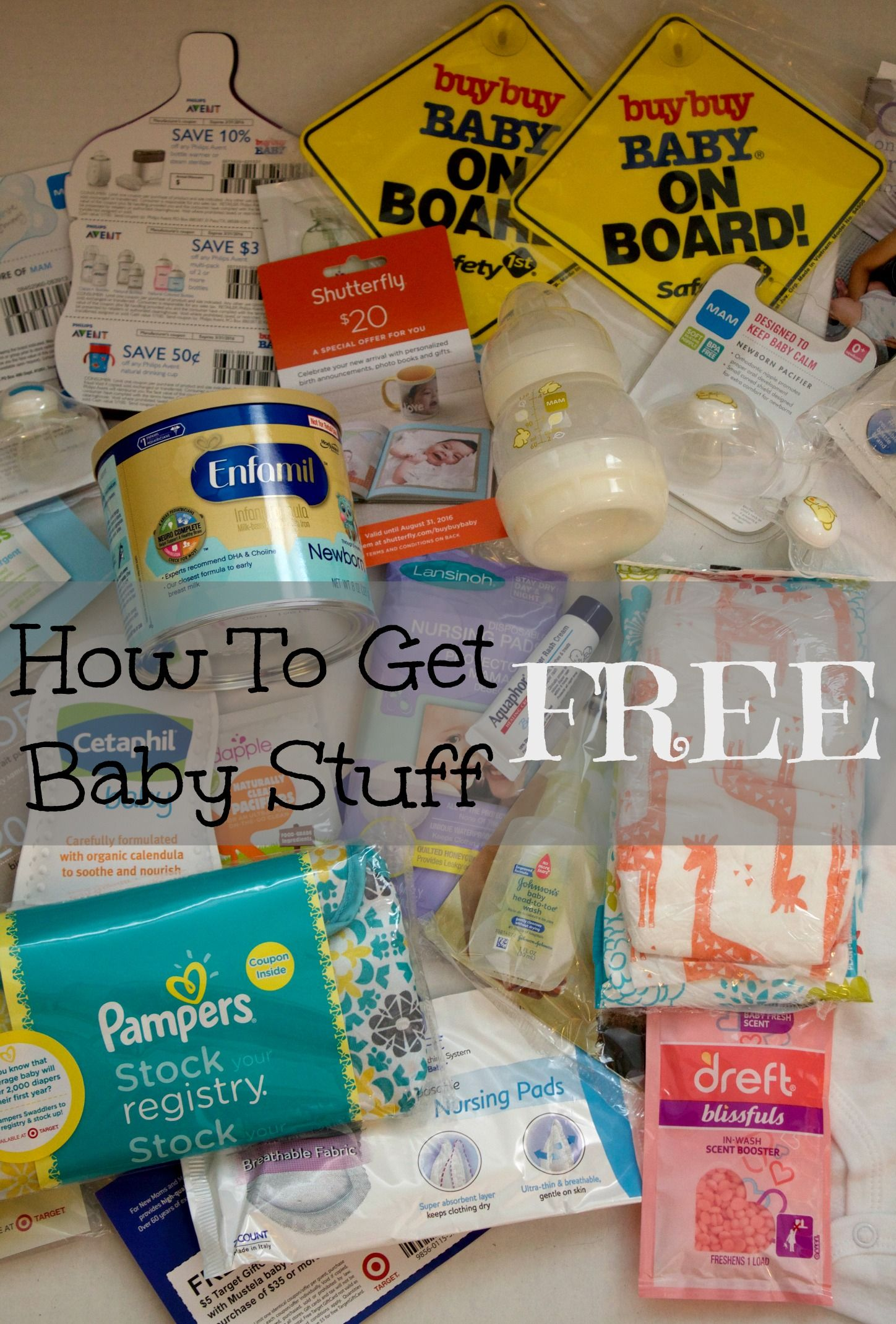 How To Get Free Baby Stuff Babies stuff, Mom and Products