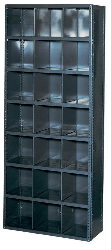 Heviload Ii 2303 12 36 Inch Wide By 12 Inch Deep By 85 Inch High Bin 21 Opening Shelving Unit Grey By Edsal 287 Steel Shelving Unit Shelving Steel Shelving