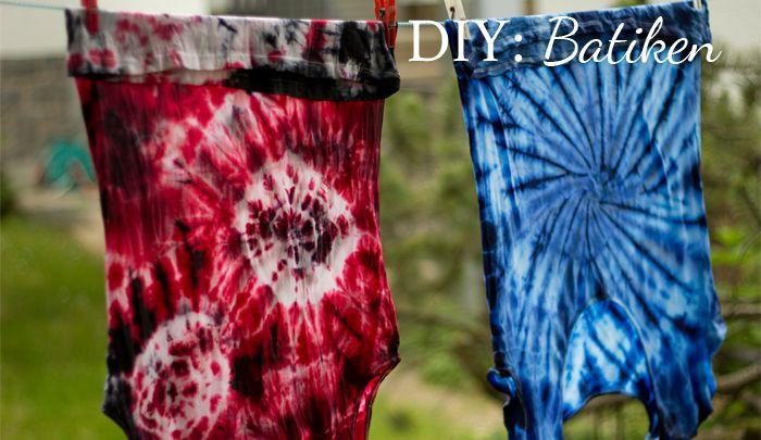 diy batiken ein neuer post ist online diy tie dye a new post up on my blog do it yourself. Black Bedroom Furniture Sets. Home Design Ideas