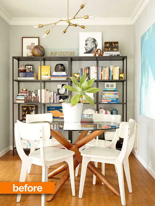 Rearranging Furniture Before And After Do you get easily tired of your surroundings, and find yourself up in the  middle of the night rearranging furniture and swapping out decor?