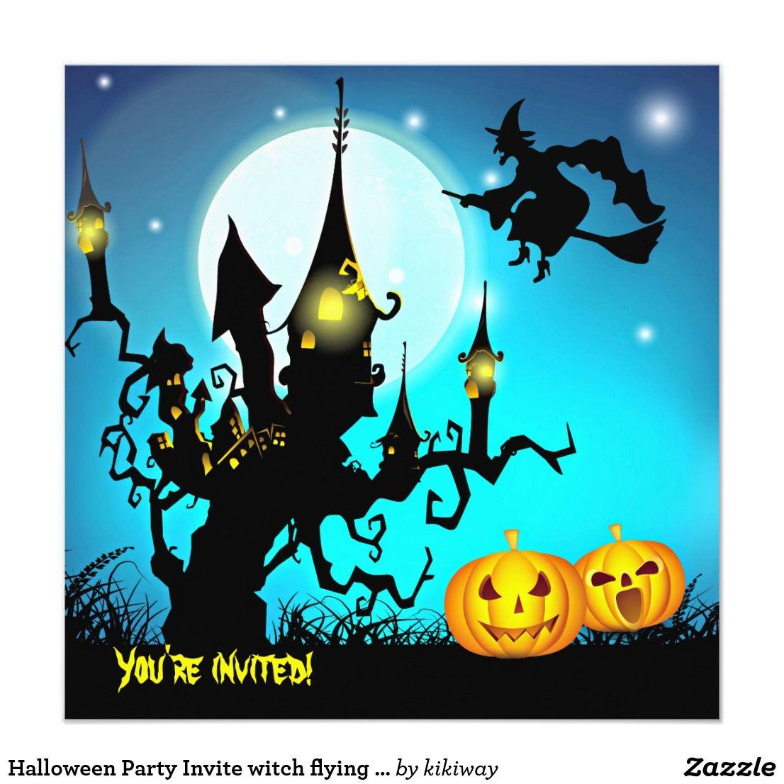 Pin by Jackie Suess on halloween invitations | Pinterest | Halloween ...