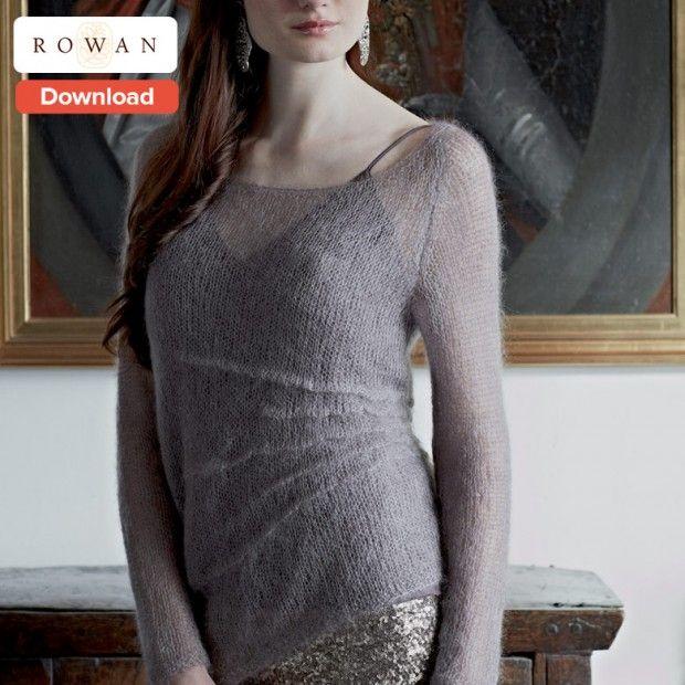 Free Rowan Knitting Pattern - LoveKnitting Blog #amidsummerknitsdream #loveknittingcom