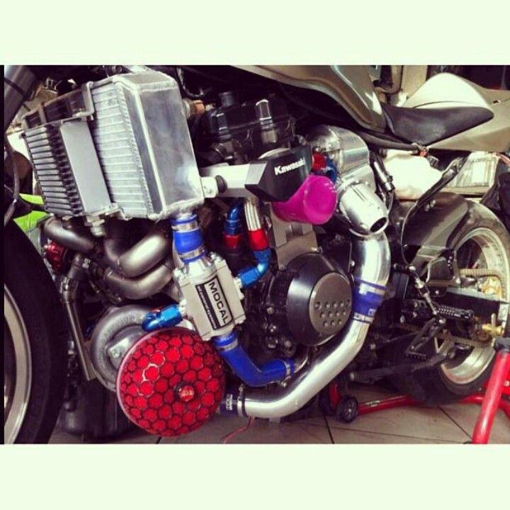 Turbocharged scooter | Tuuuurrrrrbo | Bike parts, Pit bike, Bike