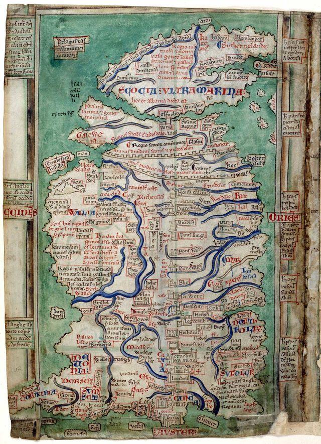 Matthew Paris Map of Britain