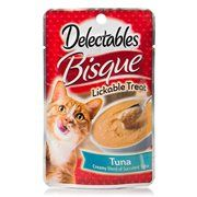 Delectables Lickable Treat Bisque Tuna 1 4oz Walmart Com Tuna Cat Treats Cat Treats Cat Food Brands