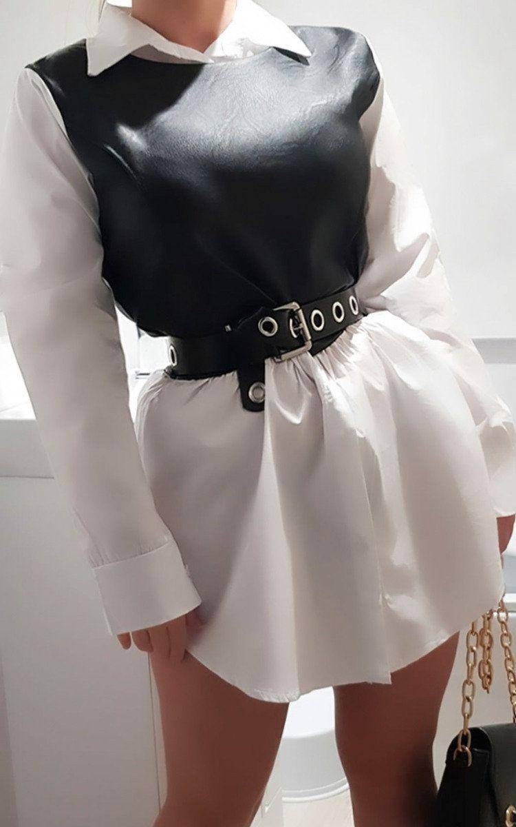 Ally Oversized Shirt Dress At Ikrush Oversized Shirt Dress Shirt Dress Outfit White Shirt Dress Outfit [ 1200 x 750 Pixel ]