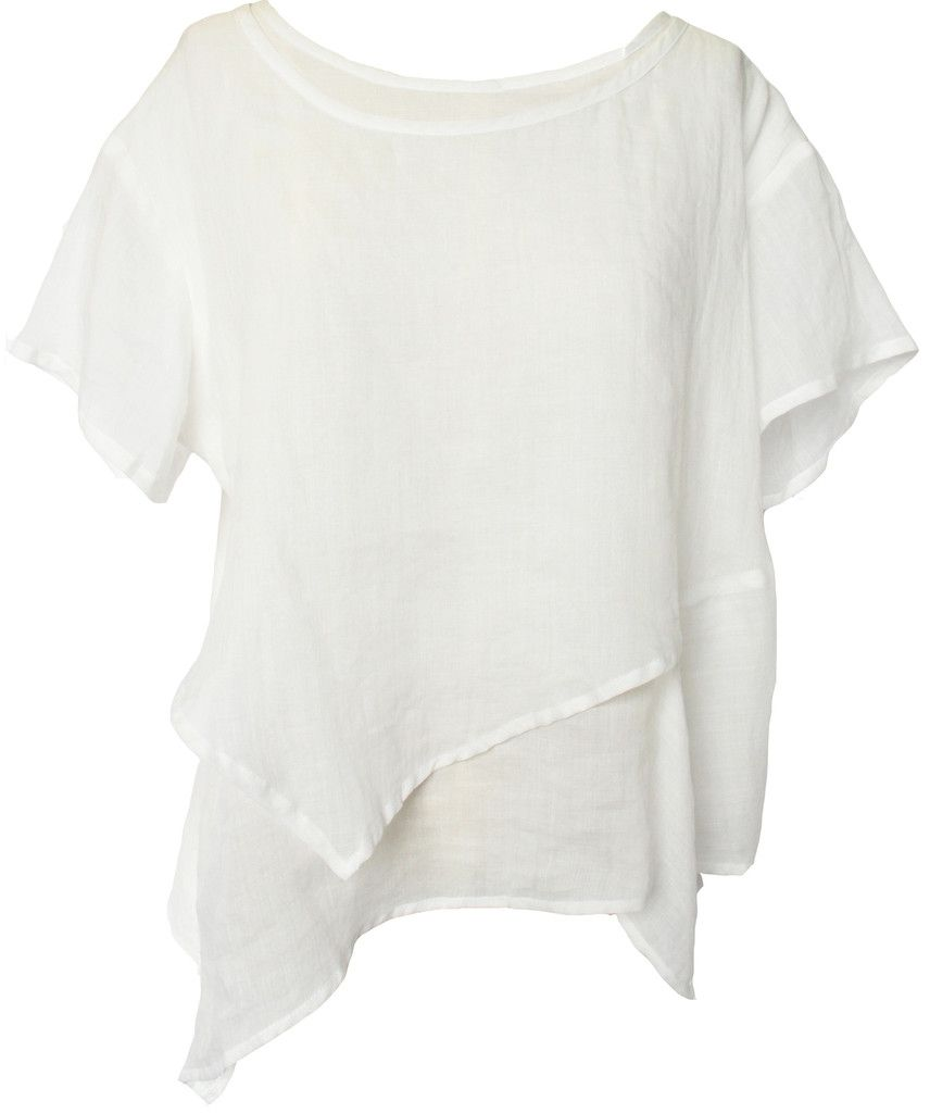 different hem, natural fabric, nice and cool