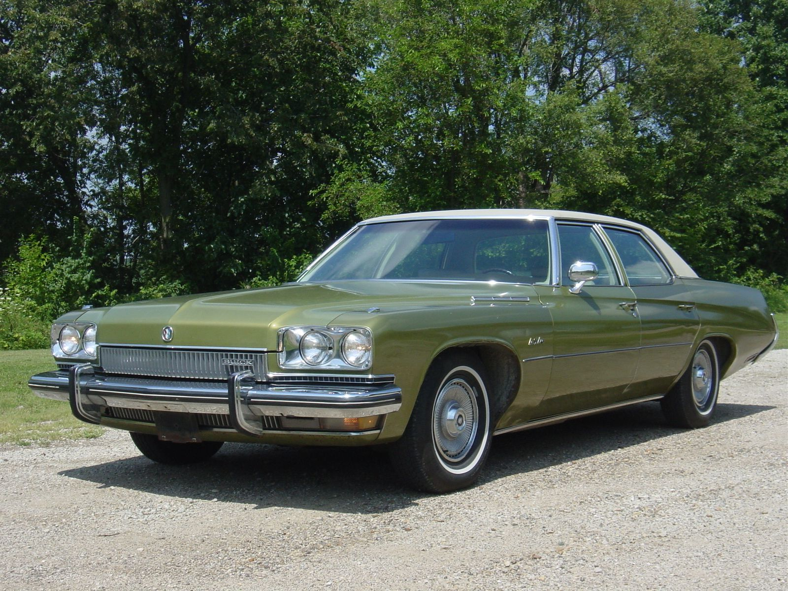1973 Buick Lesabre For A Short Time My Cars Throughout The Years Lincoln Continental Town Car