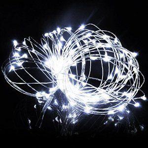 SAVFY Guirlandes Lumineuses Déco 3M 30 Micro LED Ampoules Cuivre
