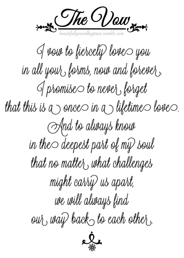 #movie #thevow #quotes #movielines #script #love #vow # ...