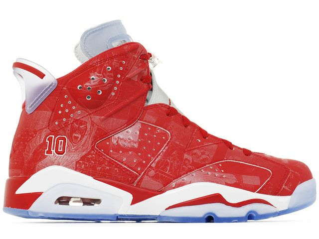 online store 139fc 5e652 Nike Air Jordan 6 VI Retro x Slam Dunk Varsity Red White 1 2 ...
