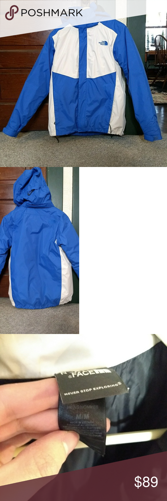 The North Face Men S 2 In 1 Hyvent Coat North Face Mens The North Face North Face Jacket [ 1740 x 580 Pixel ]