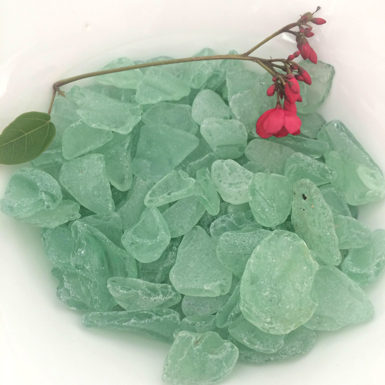 Craft Grade Sea Glass 100 pcs Sea Glass Authentic Sea Glass Bulk