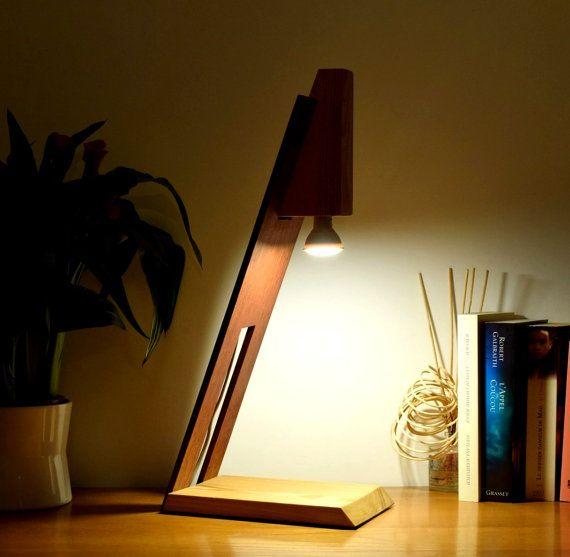 Lamp in Sipo and larch lighting LED 5 Watt AMARO