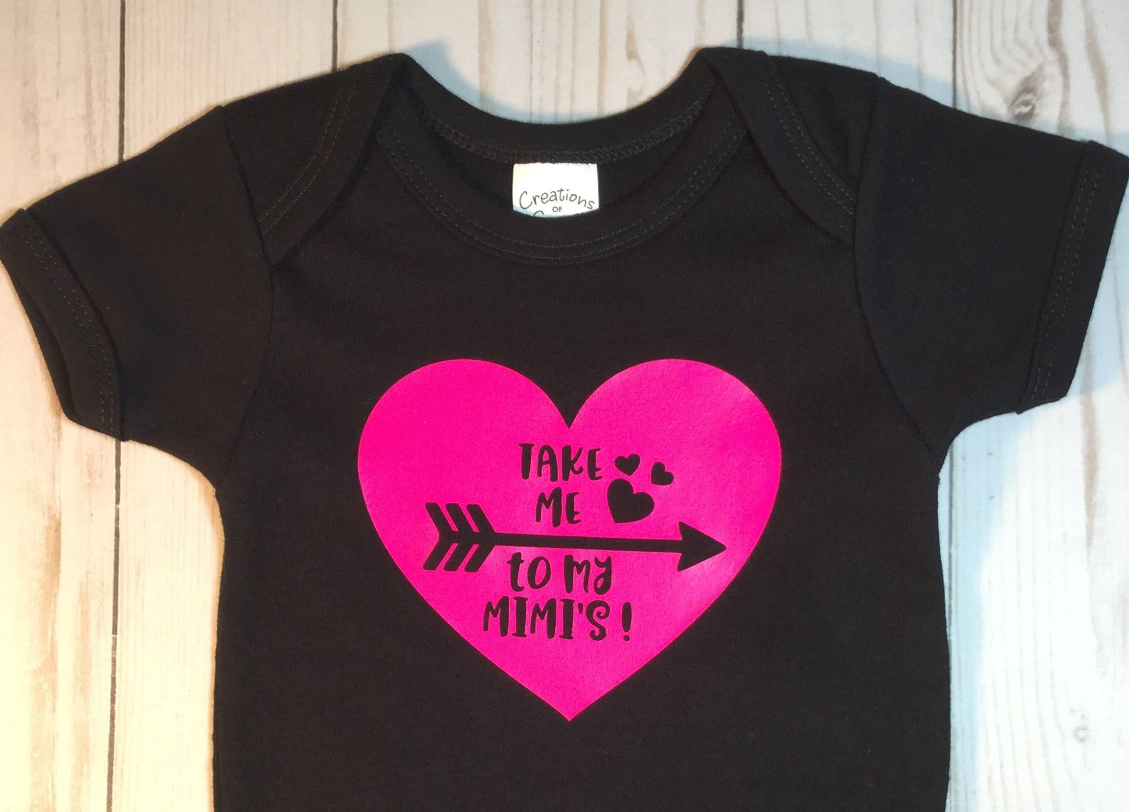 Mimi Mimi Baby Shower Gift Take Me to My Mimi s Baby Girl Baby