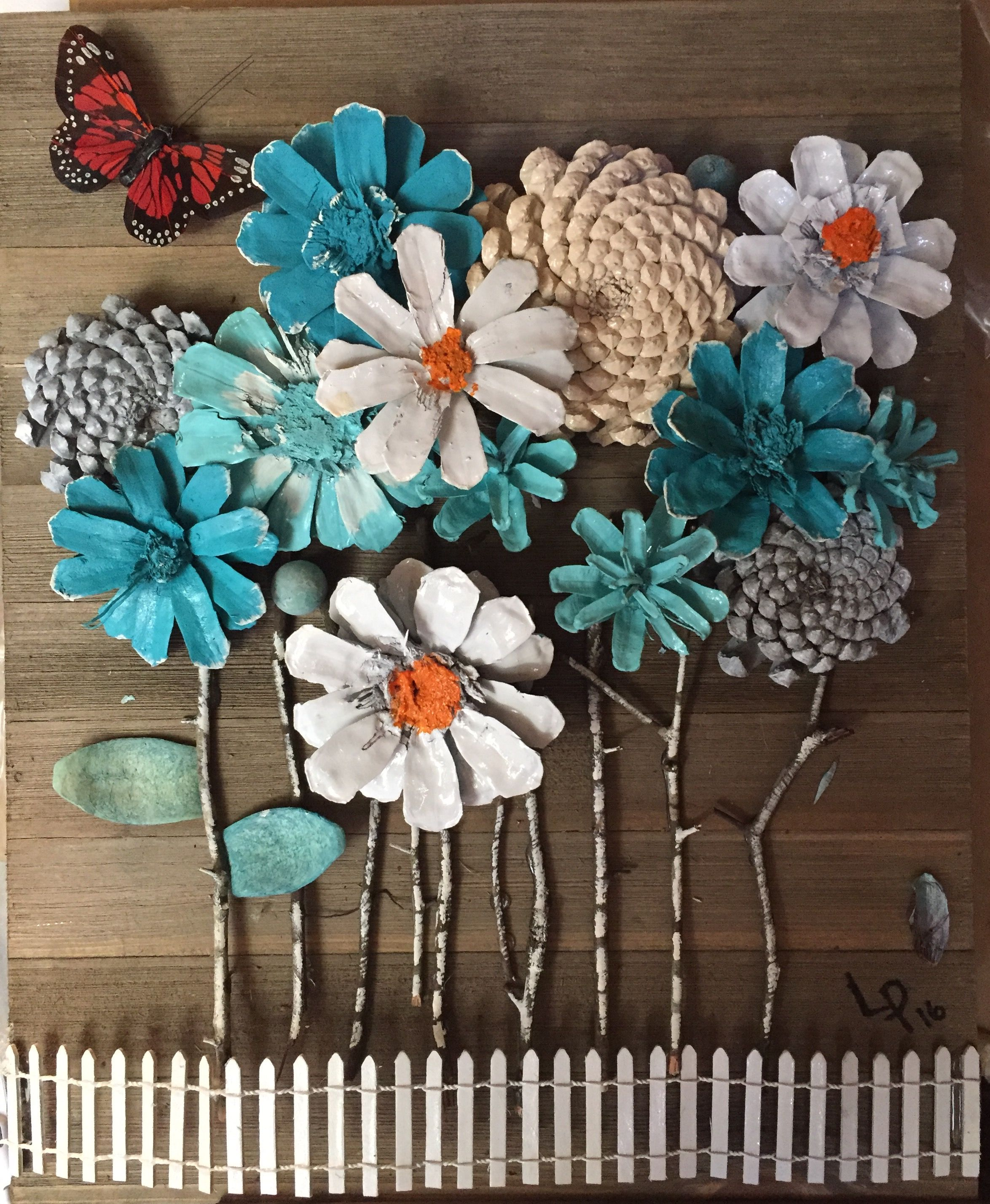Pin By Linda Paulin On Pinecone Art