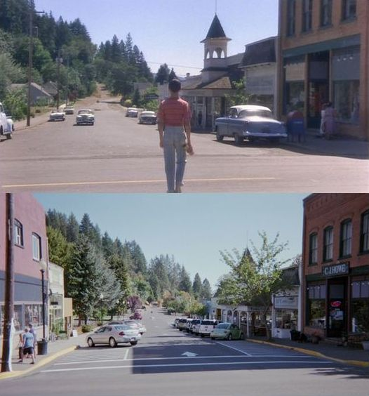 Then Now Movie Locations Stand By Me