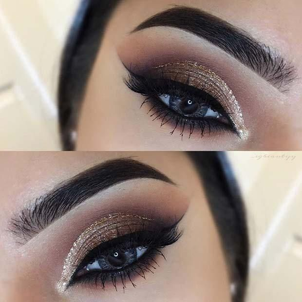 Christmas Makeup -   15 makeup Wallpaper eyes ideas