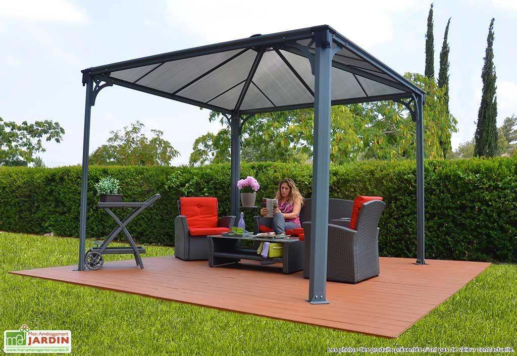Tonnelle Design En Aluminium 300x300 Gazebo Pergolalar Ve Veranda