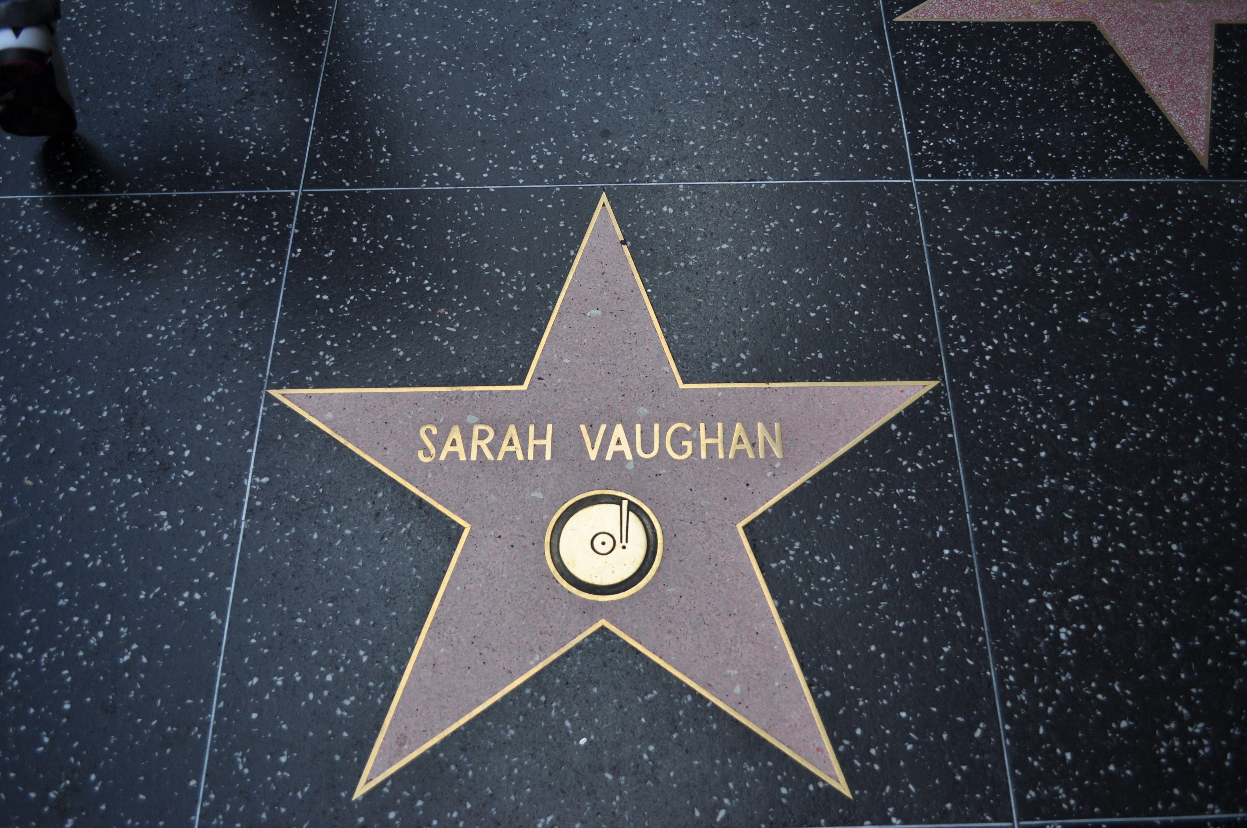 Sarah vaughans hollywood walk of fame pinterest movie sarah vaughans stopboris Gallery