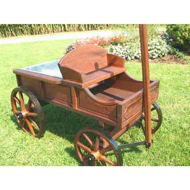 Amish Old Fashioned Large Buckboard Wagon Wooden Wagon Wood Shop Projects Wood Wagon