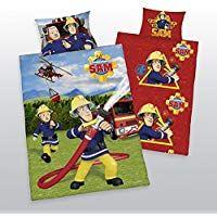 Herding Baby Wende Bettwäsche Feuerwehrmann Sam 40 X 60 Und 100 X