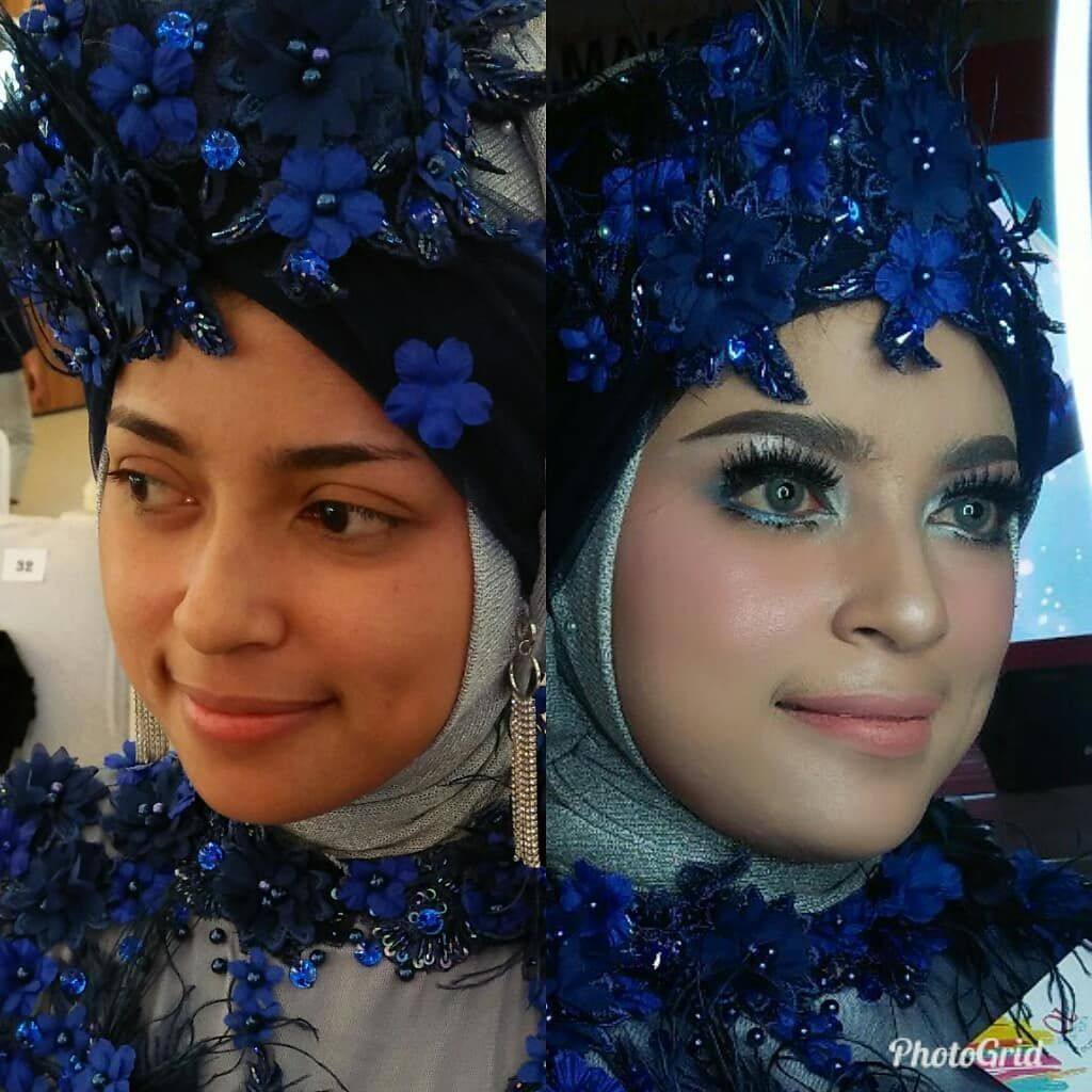 Makeup Party Experience Ql Solo Square Rias Wisuda Party Makeup Makeup Crown Jewelry