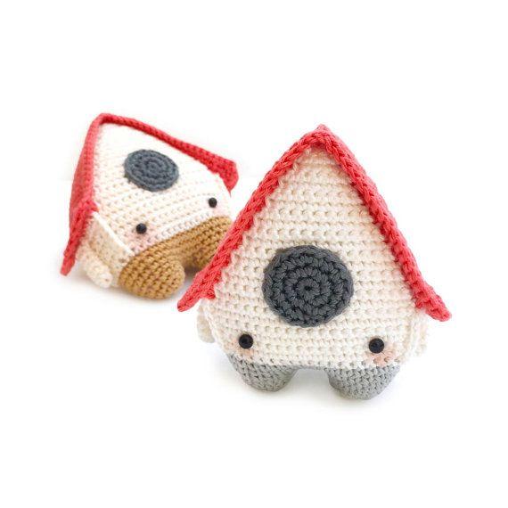 lalylala crochet pattern 4 SEASONS SPRING bird house by lalylala ...