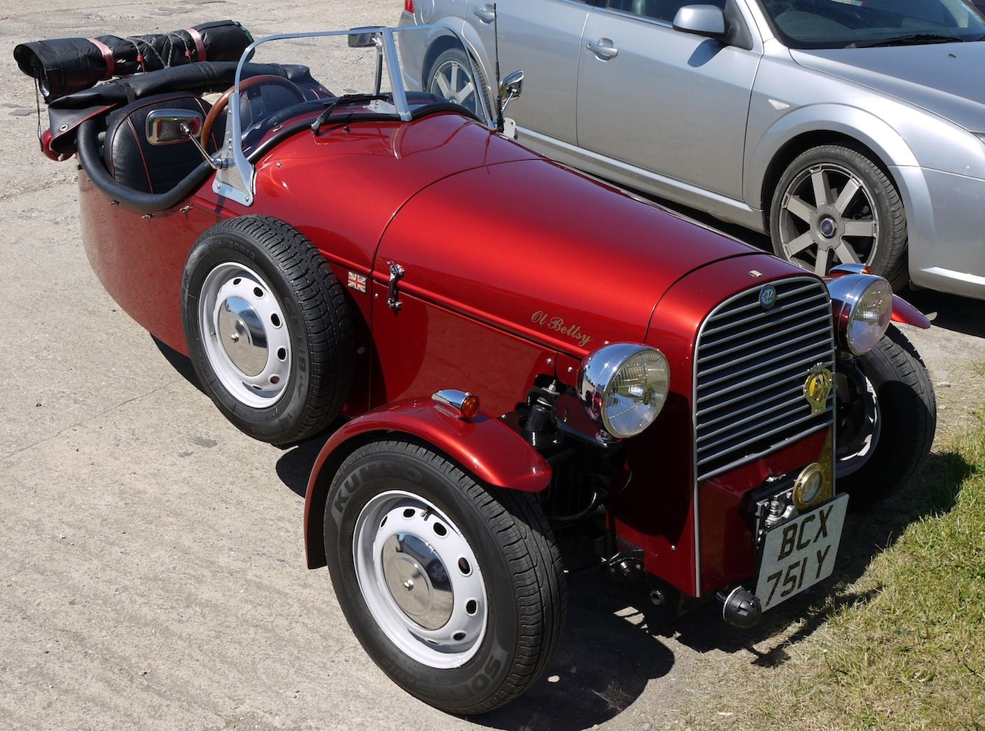 1986 Rare Drk Uk 3 Wheel Kit Car This One With A Renault 1100cc 4 Cylinder Engine Only 59 Units Were Ever Built