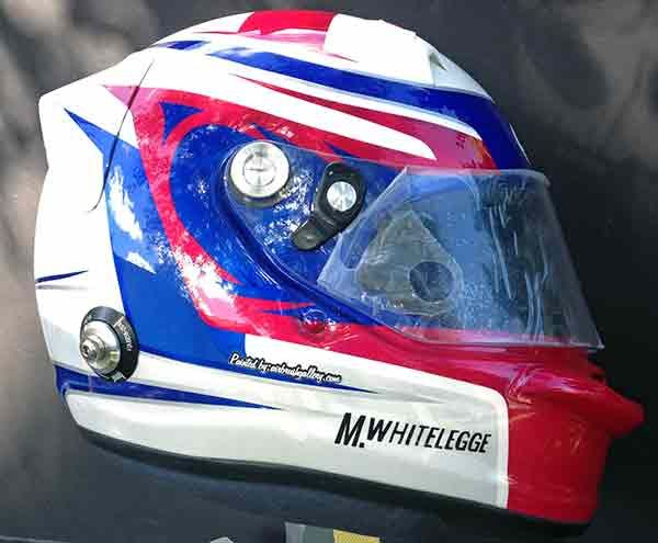 Arai GP6 helmet,custom race helmet design and painting by Don Johnson, airbrushgallery.com www.airbrushgallery.com