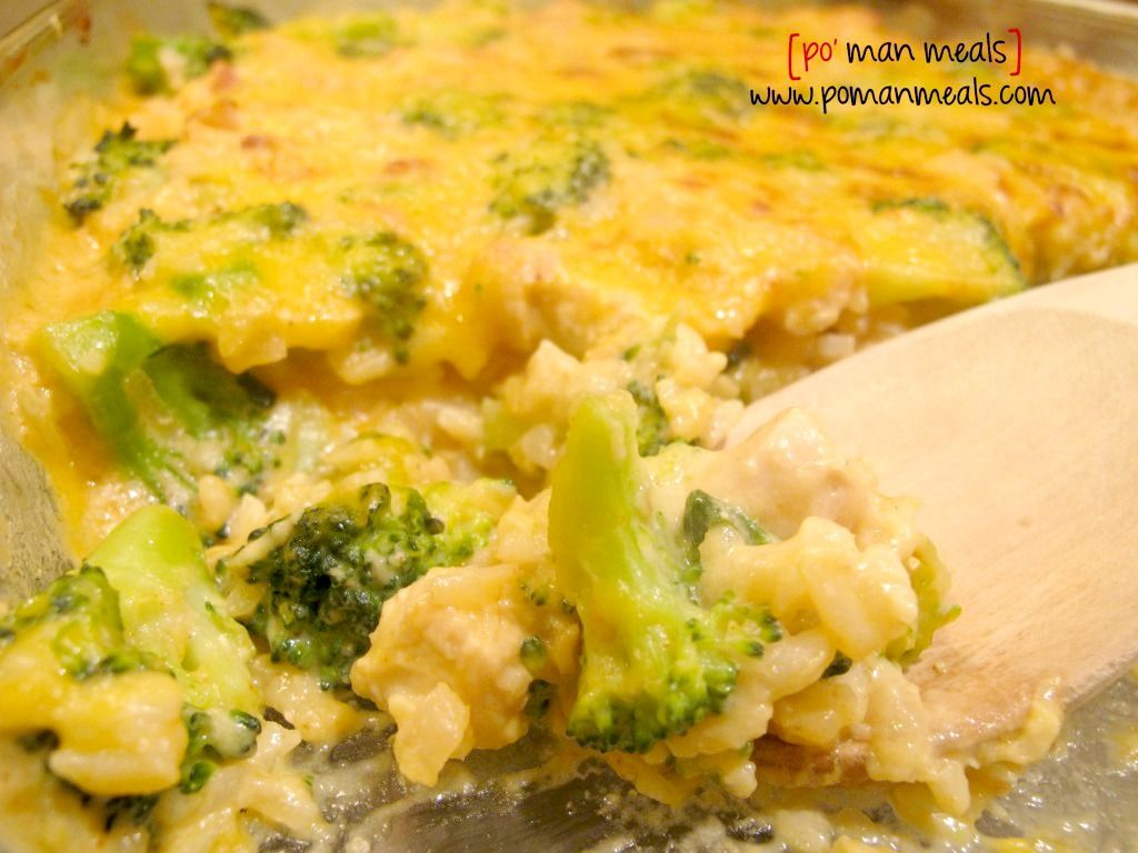 Cheesy Chicken, Rice And Broccoli Casserole  Chicken -1348
