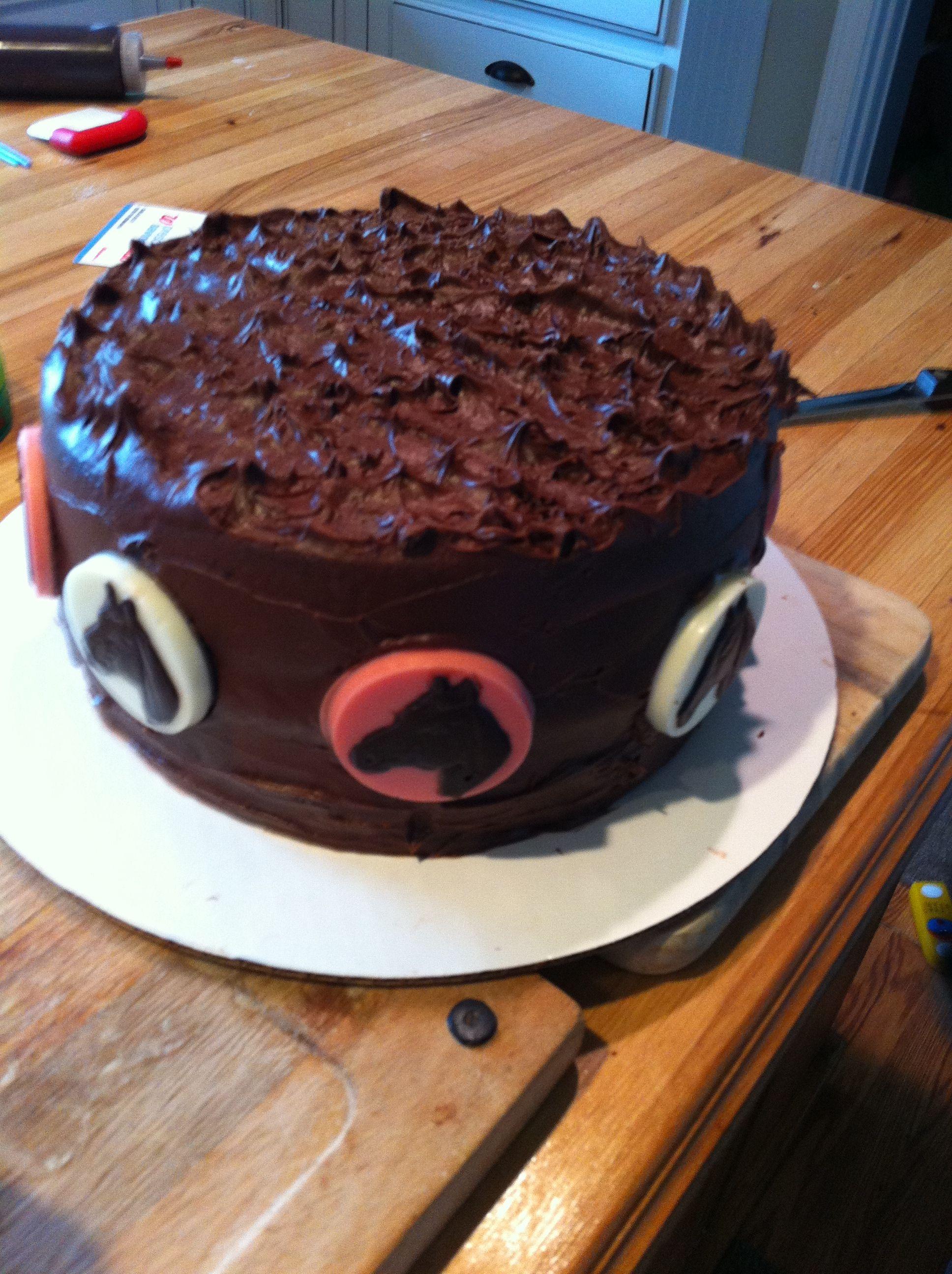 Cowgirl horse lover birthday cake wesleighus first birthday