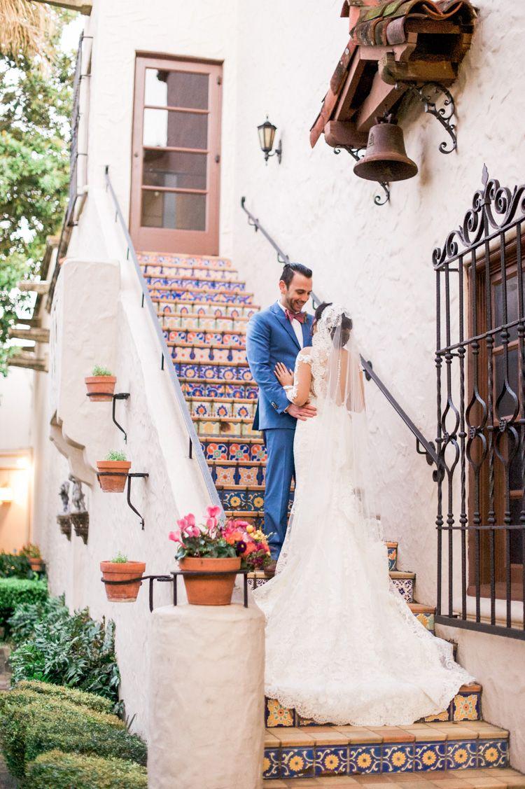 Mcnay Art Museum Wedding Mexican Inspired Colorful San Antonio