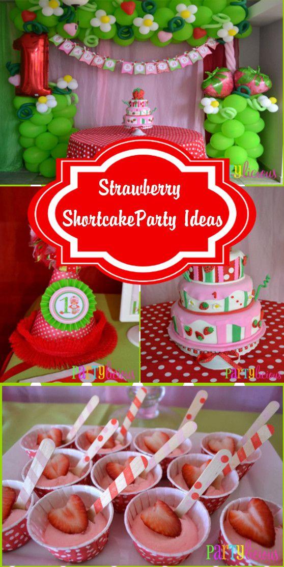 Vintage Strawberry Shortcake Party Ideas ~ Featured Party | Seshalyn's Party Ideas #vintagestrawberryshortcake #strawberryshortcakeparty
