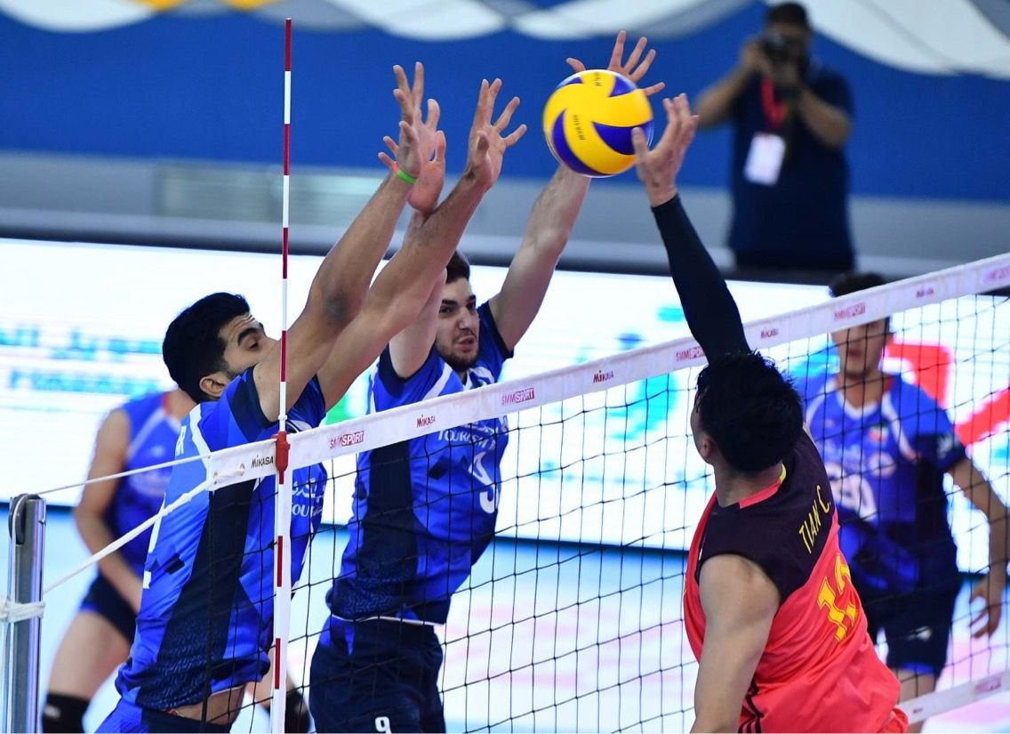 Hosts Bahrain Join Iran Japan And Chinese Taipei For First Day Wins At Asian Men S U20 Championship World Volleyball Chinese Taipei Taipei Japan