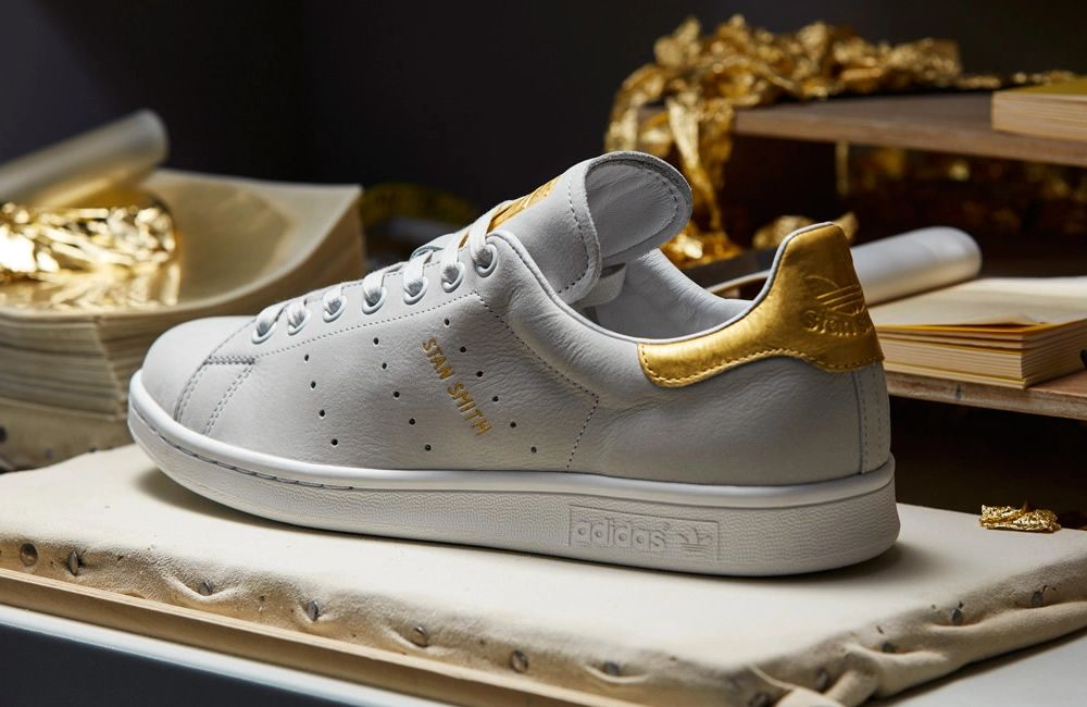 137c4c408c3e Adidas 24-karat Gold Stan Smith Trainers  sneakers  trainers  gold   stansmith