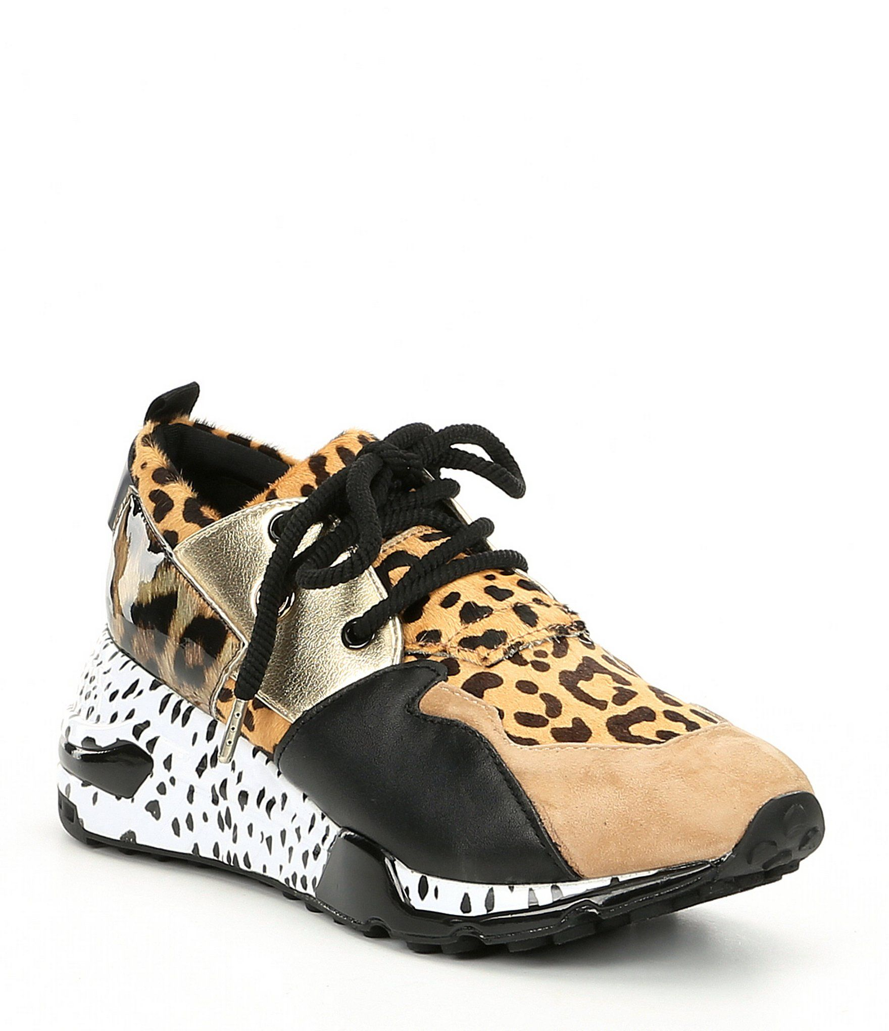 e319587afdd Shop for Steve Madden Cliff Leather and Suede Animal Print Sneakers at  Dillards.com. Visit Dillards.com to find clothing