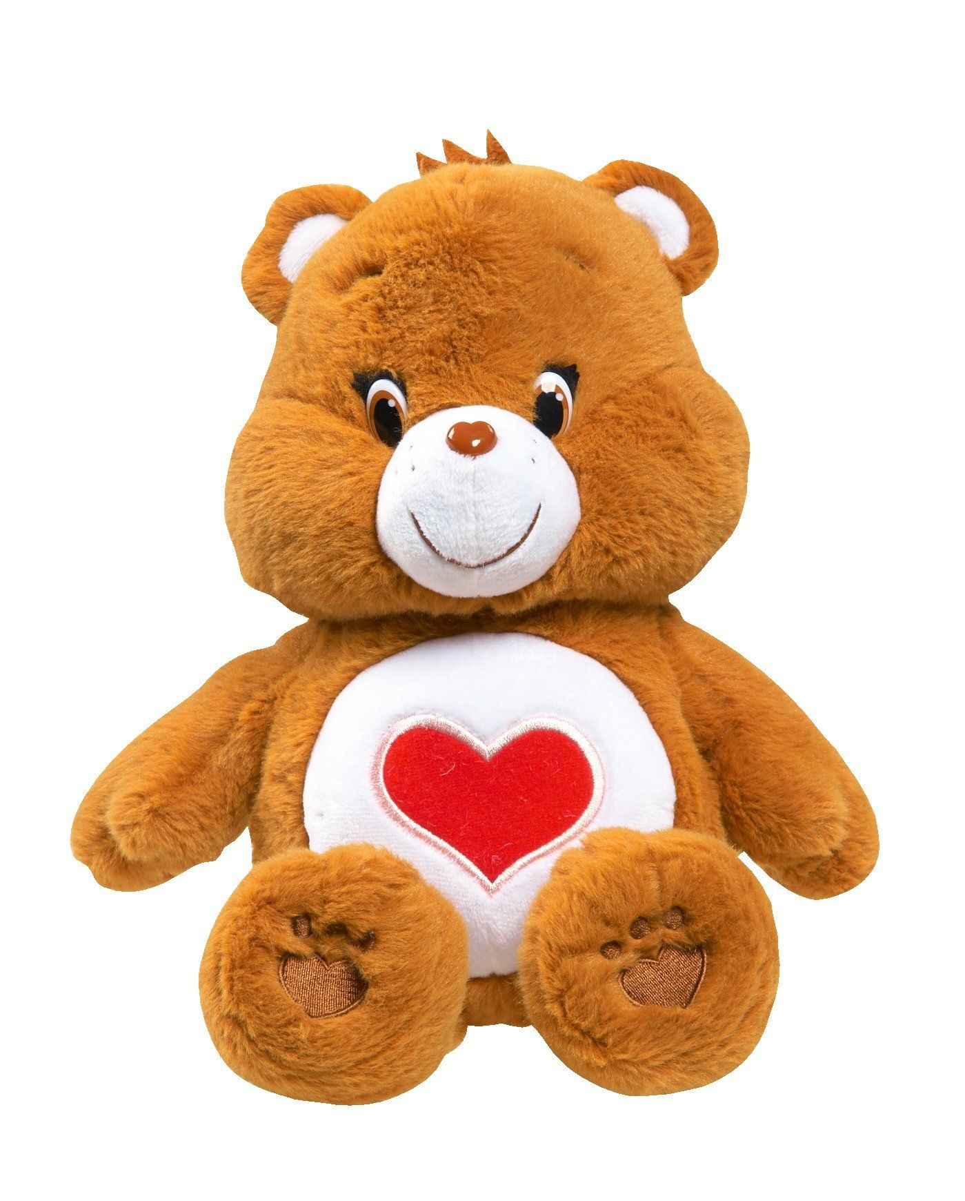 Just Play Care Bears Tenderheart Medium Plush With Dvd Teddy Bear Stuffed Animal Care Bear Cute Stuffed Animals [ 1740 x 1399 Pixel ]