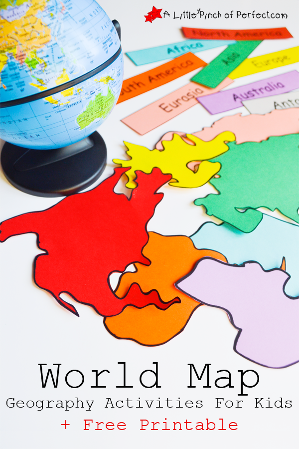 World map geography activities for kids and free printable world map geography activities for kids and free printable gumiabroncs Gallery