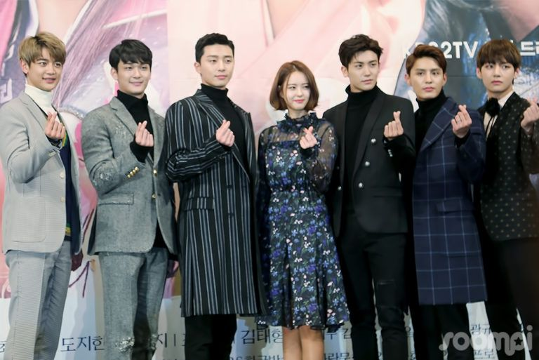 "Exclusive: ""Hwarang"" Press Conference Is Full Of Smiles ..."