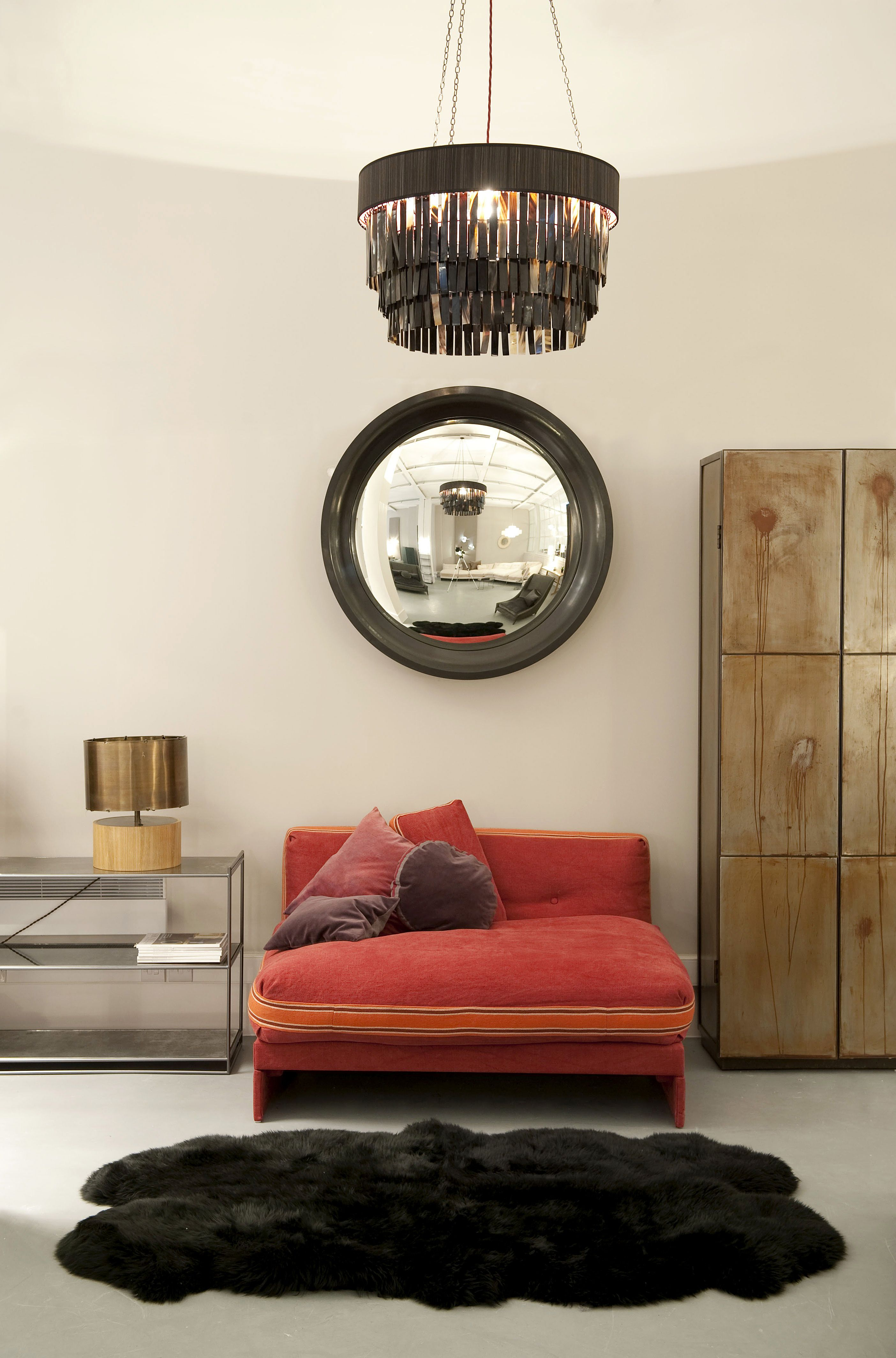 OCHRE at Clerkenwell Design Week 2013 chloe s bedroom sofa