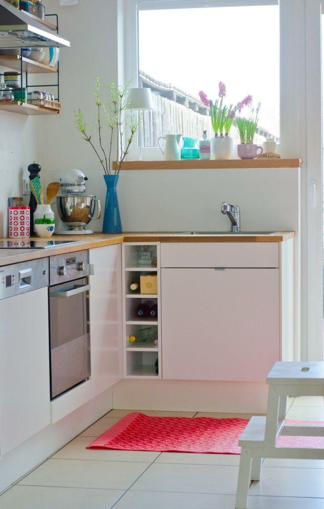 Immer wenn die Sonne scheint Small spaces, Spaces and Interiors - neue küche ikea