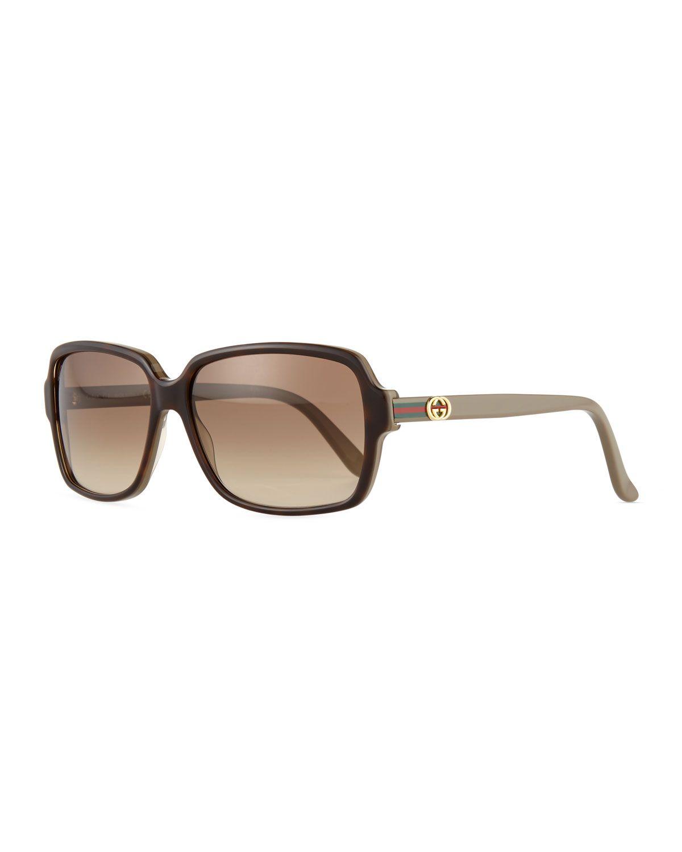 71872da5f58 Gradient Square Sunglasses
