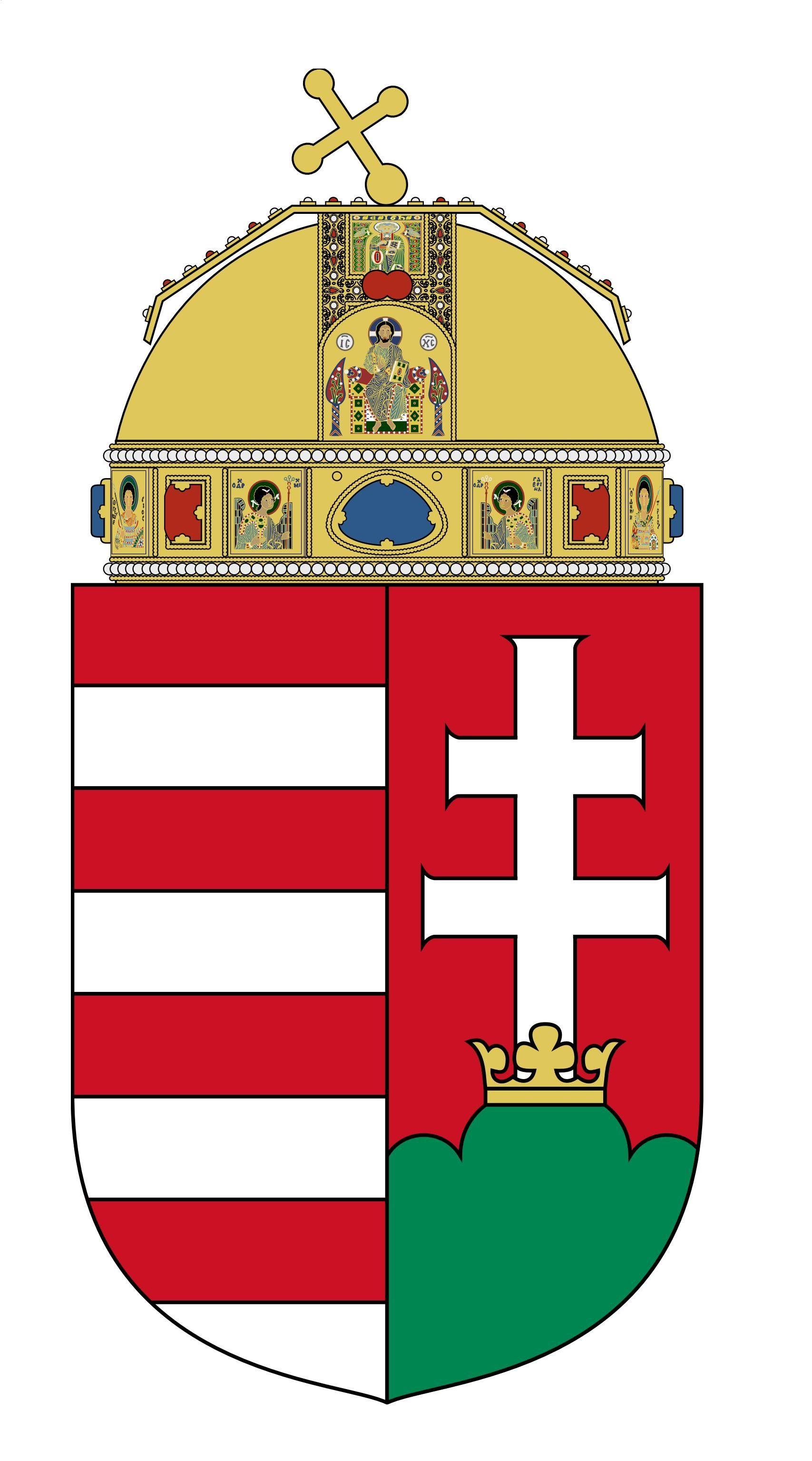 coat of arms of hungary epspdf flagsamparmsampemblem of