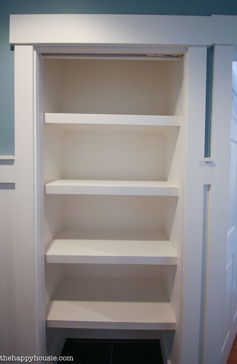 How To Replace Wire Shelves With Diy Custom Wood Shelves Diy