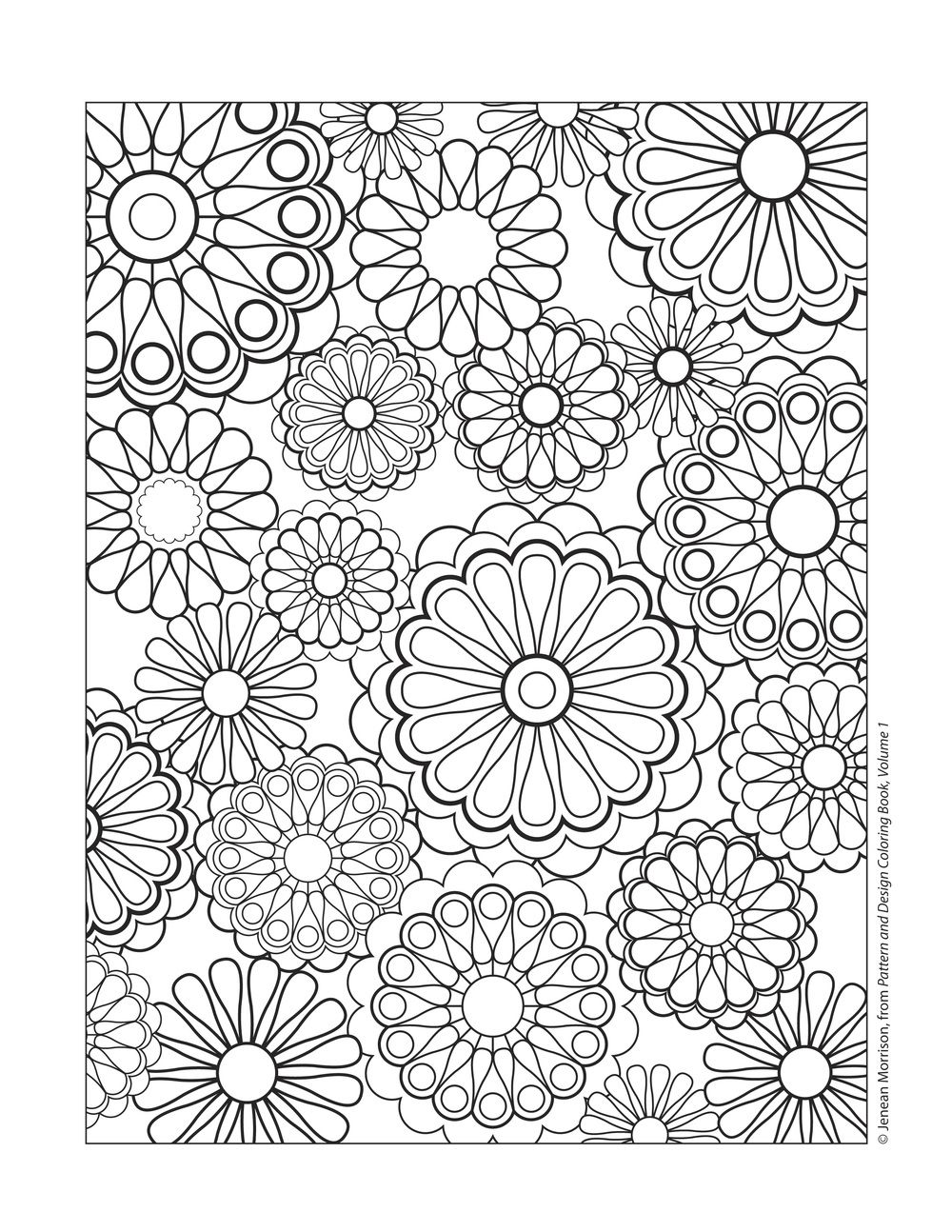 Design Patterns Coloring Pages