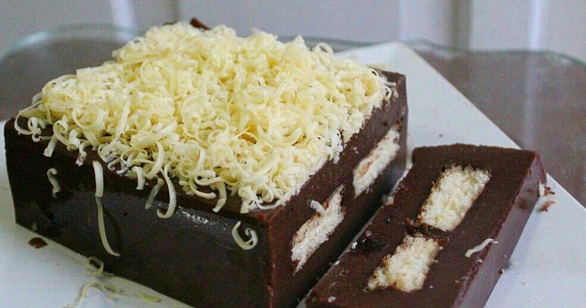 Resep Puding Brownis Coklat Oleh Ekasari Resep Puding Makanan Krispie Treats